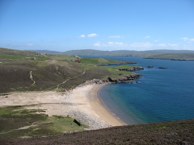 Muckle Ayre bay, Muckle Roe