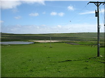 HU3713 : Loch of Hillwell by David Purchase