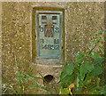 SP7586 : Flush bracket S4852 Clack Hill triangulation pillar by Andrew Tatlow