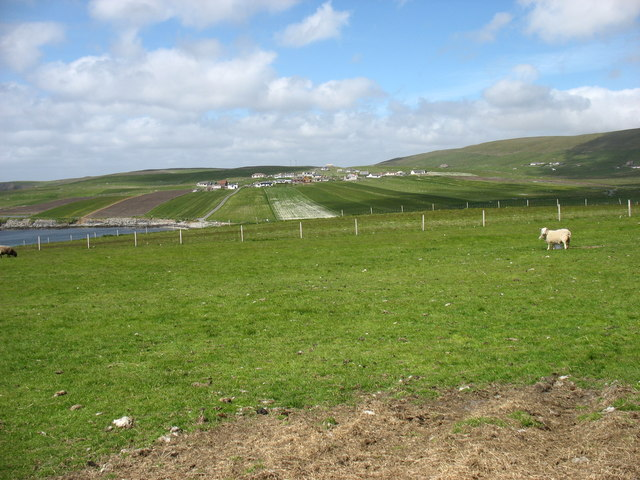 Fields west of Bigton