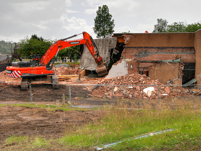 Radcliffe Civic Suite Demolition - July 2016  (2)