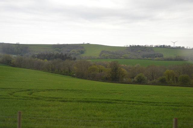 Countryside near Trerulefoot