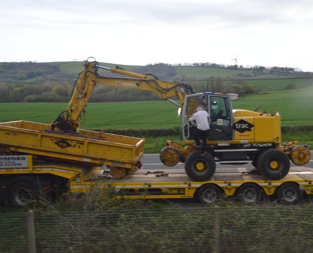 Yellow Digger by the A374