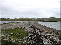 HU3689 : The spit at Burra Voe by David Purchase