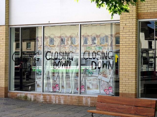 Aberystwyth 'Store 21' - Closing down sale