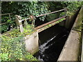 TL9383 : Weir on River Thet off Brettenham Road by Adrian Cable