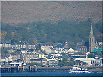 NS1776 : MV Ali Cat entering Dunoon by Thomas Nugent