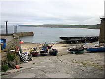 SW3526 : Harbour Sennen Cove by Roy Hughes