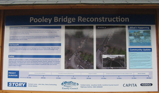 Pooley Bridge Reconstruction