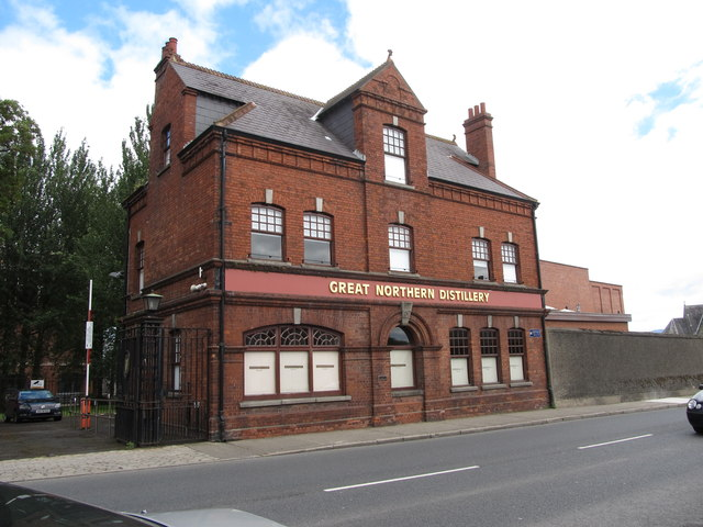 The site offices of the Great Northern Distillery