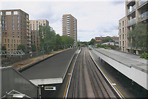TQ3882 : Bromley-by-Bow Underground station by David Kemp