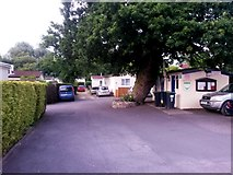 SZ0895 : Redhill: the centre of Redhill Park Homes by Chris Downer