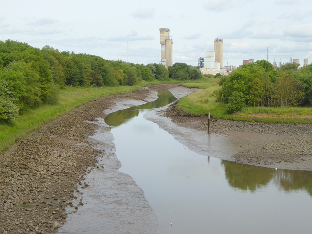 The mouth of Billingham Beck