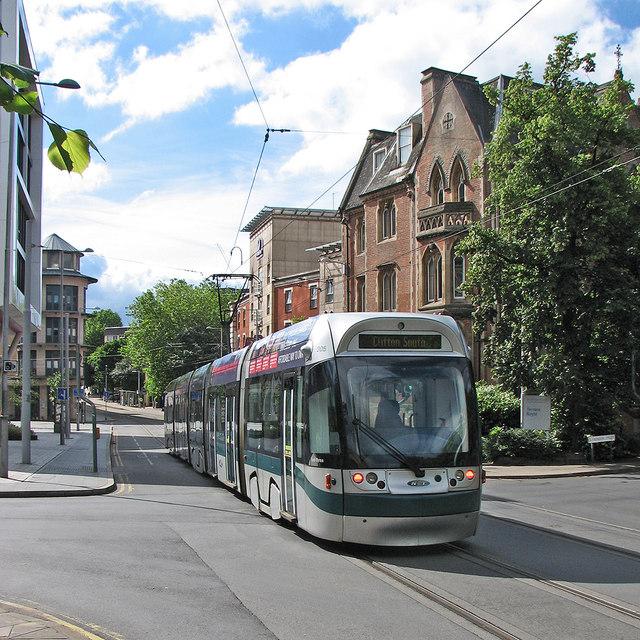 Lord Byron passing Peel Street