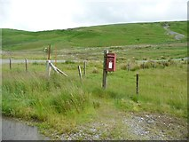SN8693 : ER postbox, Dylife by Christine Johnstone