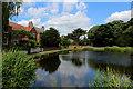 SE5347 : The Village Pond, Askham Richard by Chris Heaton