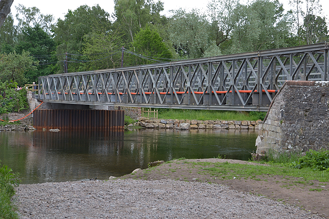 New Bailey bridge, Pooley Bridge
