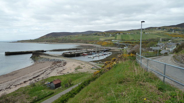 Helmsdale Harbour from Dunrobin Street