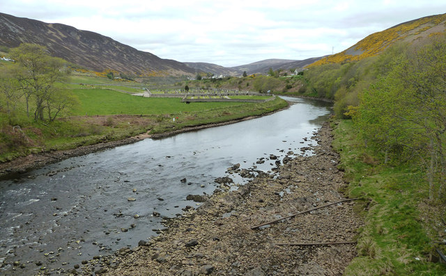 River Helmsdale from the bridge
