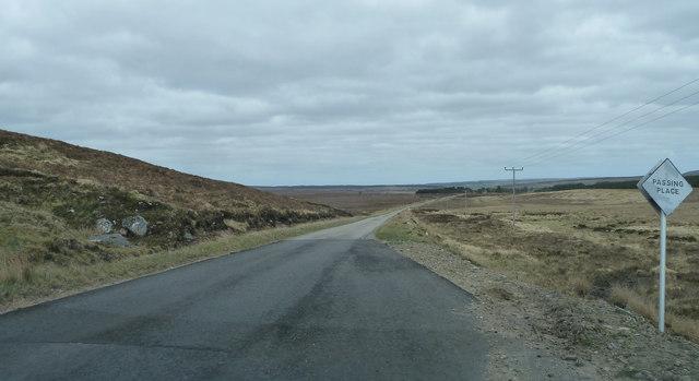 A897 heading for Forsinard