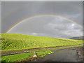 NJ4719 : Double Rainbow by Anne Burgess