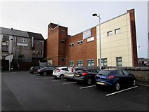 ST1599 : Edge of a Bargoed car park by Jaggery