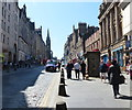 NT2673 : The High Street in Edinburgh by Mat Fascione