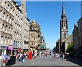 NT2573 : The High Street in Edinburgh by Mat Fascione