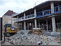 TL4558 : Rebuilding The University Arms Hotel - Cambridge by Richard Humphrey