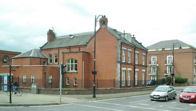 The Corner of Church Street and The Laurels, Dundalk