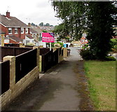 ST3090 : Pinkmove For Sale board, Laurel Crescent, Malpas, Newport by Jaggery