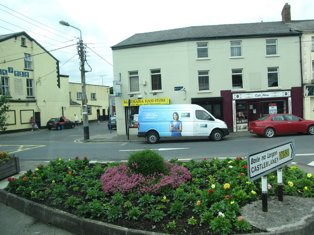 The Patrick Street junction on Bridge Street, Dundalk