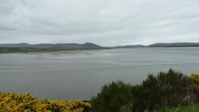 Dornoch Firth from lay-by on the A9