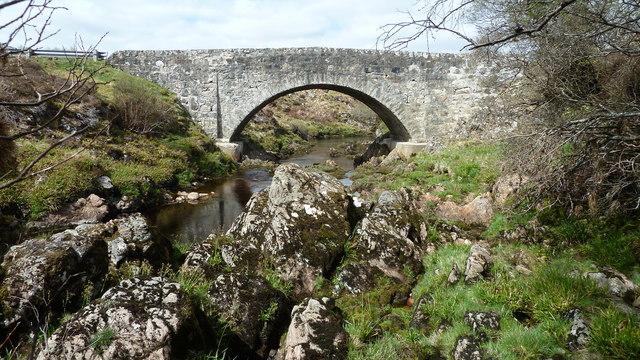 Forsinain Bridge over the River Halladale