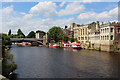 SE6051 : River Ouse in York by Chris Heaton