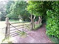 SZ0794 : Wallisdown: footpath N10 heads for Talbot Village by Chris Downer