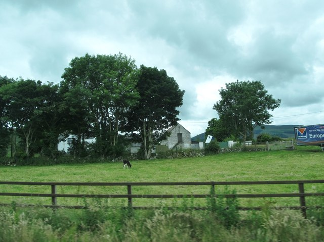Farm house and outbuildings on the Newtown Road