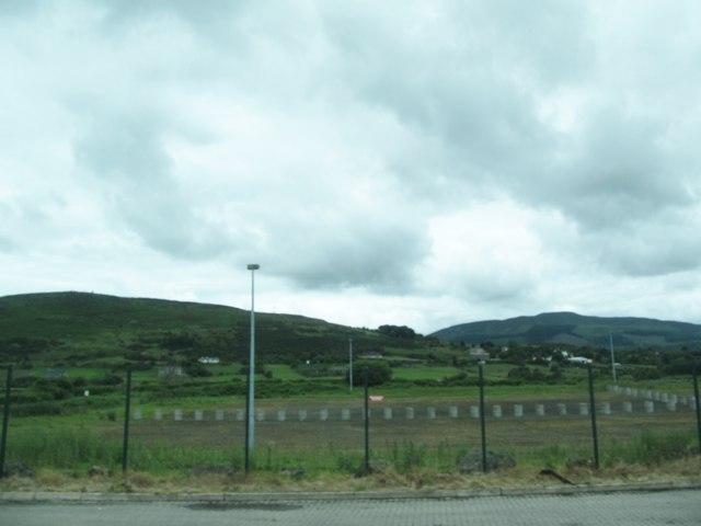 Holding base of the former RoI Carrickcarnan/Killeen Border Post