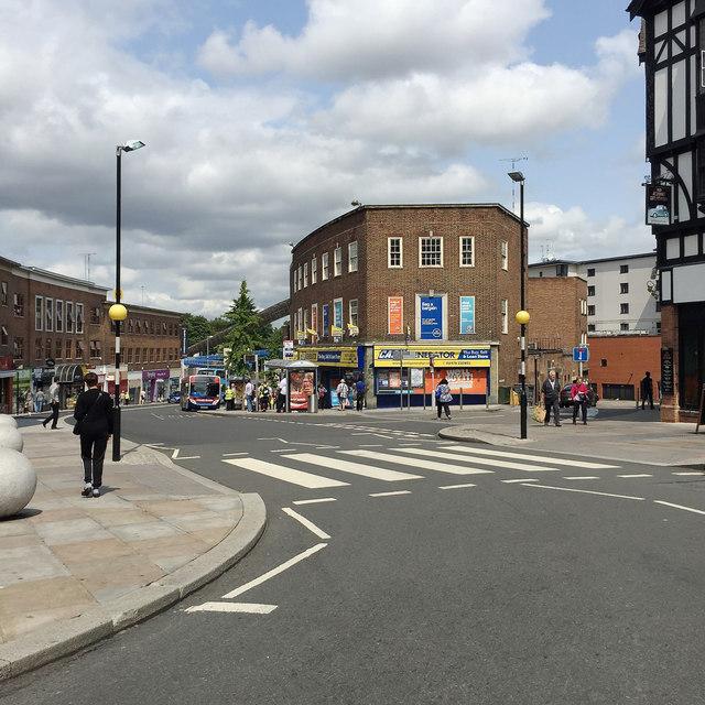 Trinity Street from Ironmonger Row, Coventry
