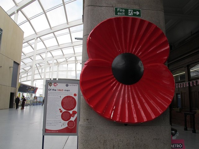 Somme memorial at Manchester Victoria