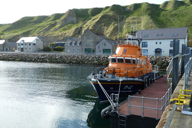 Lifeboat in Scrabster Harbour