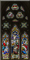 SK9669 : East window, St Helen's church, Boultham by Julian P Guffogg