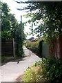 SZ0596 : Bear Cross: footpath E01 to Benbridge Avenue by Chris Downer