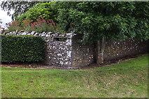 N9673 : Defending neutral Ireland in WWII: Boyne defences - Fennor Cross Roads loopholed wall (2) by Mike Searle