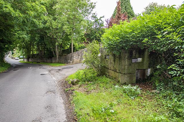 Defending neutral Ireland in WWII: Boyne defences - Broadboyne Bridge pillbox (1)