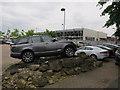 TL4859 : Range Rover on display by Hugh Venables
