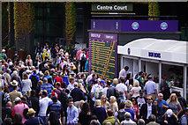 TQ2472 : Wimbledon Crowds by Stephen McKay