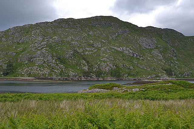 View across Loch Ailort