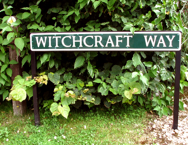 Witchcraft Way (road sign)