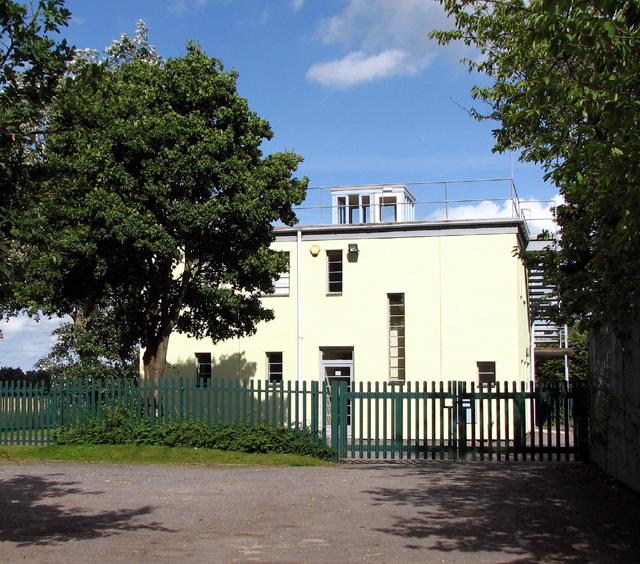 The former Watch office at RAF Rackheath